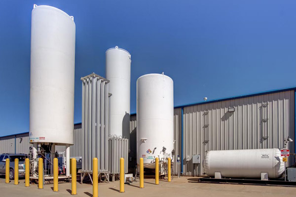 Commercial electrical work completed at West Texas gas and liquid propane installation.