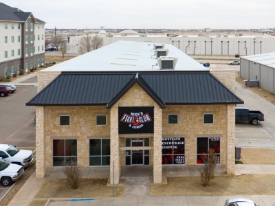 Nick's Fight Club & Fitness Building in Lubbock, Texas.
