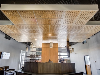 Specialized commercial electrical and lighting work in Lubbock church, in food service area.