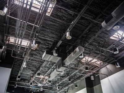 Highly specialized conduit, commercial electrical and lighting work in Lubbock church.