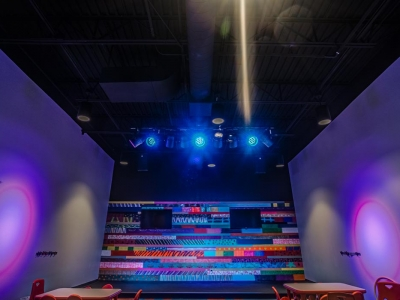 Highly specialized commercial electrical and lighting work in Lubbock church.